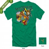 """Fins Up Mon"" - Margaritaville Jamaica T-Shirt"