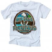 My Dad's a Parrot Head Junior (kids) T-Shirt