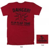 Danger Flip Flop Zone T- Shirt