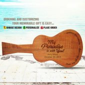 Margaritaville Guitar Board My Paradise